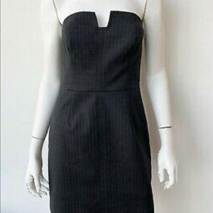 Trina Turk strapless black dress
